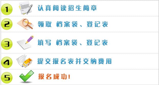 郑州大学远程教育报名流程图